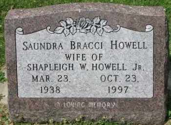BRACCI HOWELL, SAUNDRA - Yankton County, South Dakota | SAUNDRA BRACCI HOWELL - South Dakota Gravestone Photos