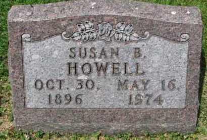 HOWELL, SUSAN B. - Yankton County, South Dakota | SUSAN B. HOWELL - South Dakota Gravestone Photos