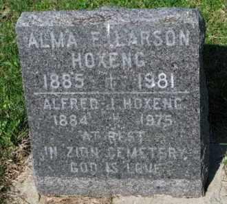 HOXENG, ALMA E. - Yankton County, South Dakota | ALMA E. HOXENG - South Dakota Gravestone Photos