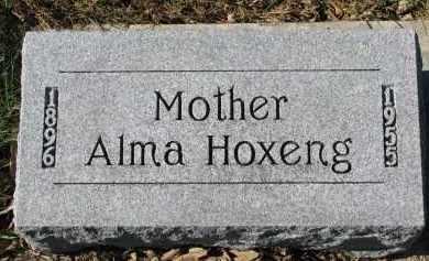 HOXENG, ALMA - Yankton County, South Dakota   ALMA HOXENG - South Dakota Gravestone Photos