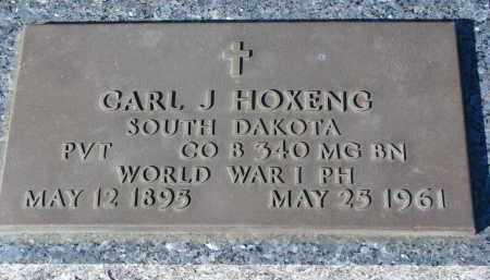 HOXENG, CARL J. (WW I) - Yankton County, South Dakota | CARL J. (WW I) HOXENG - South Dakota Gravestone Photos