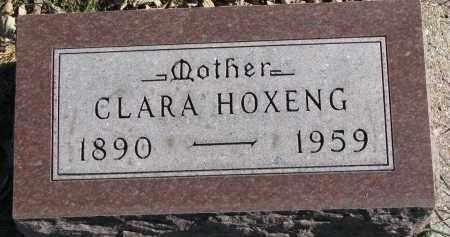 HOXENG, CLARA - Yankton County, South Dakota | CLARA HOXENG - South Dakota Gravestone Photos