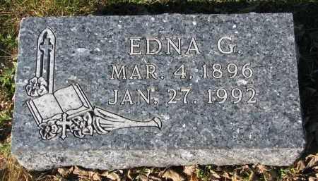 HOXENG, EDNA G. - Yankton County, South Dakota | EDNA G. HOXENG - South Dakota Gravestone Photos
