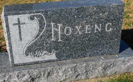 HOXENG, FAMILY STONE - Yankton County, South Dakota | FAMILY STONE HOXENG - South Dakota Gravestone Photos