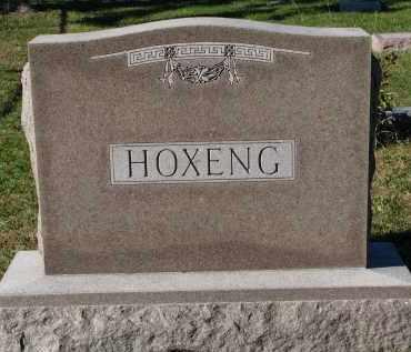 HOXENG, FAMILY STONE - Yankton County, South Dakota   FAMILY STONE HOXENG - South Dakota Gravestone Photos