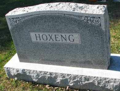 HOXENG, FAMILY STONE - Yankton County, South Dakota | FAMILY STONE HOXENG - South Dakota Gravestone Photos