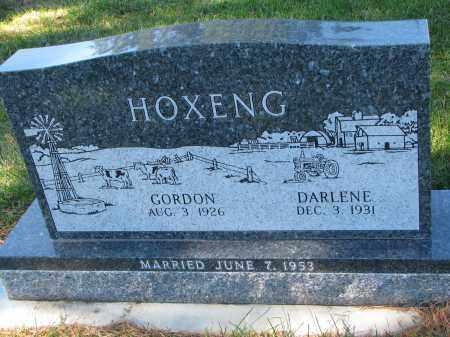 HOXENG, GORDON - Yankton County, South Dakota | GORDON HOXENG - South Dakota Gravestone Photos