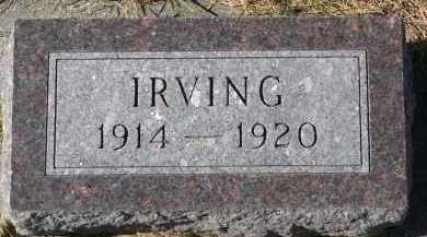 HOXENG, IRVING - Yankton County, South Dakota | IRVING HOXENG - South Dakota Gravestone Photos