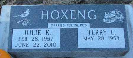 HOXENG, JULIE K. - Yankton County, South Dakota | JULIE K. HOXENG - South Dakota Gravestone Photos