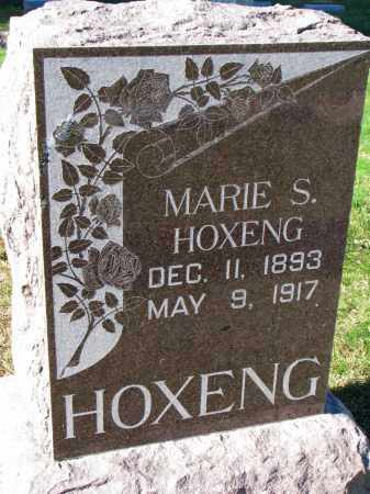 HOXENG, MARIE S. - Yankton County, South Dakota | MARIE S. HOXENG - South Dakota Gravestone Photos