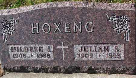HOXENG, MILDRED I. - Yankton County, South Dakota   MILDRED I. HOXENG - South Dakota Gravestone Photos
