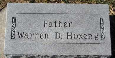 HOXENG, WARREN D. - Yankton County, South Dakota | WARREN D. HOXENG - South Dakota Gravestone Photos