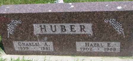 HUBER, CHARLES A. - Yankton County, South Dakota | CHARLES A. HUBER - South Dakota Gravestone Photos