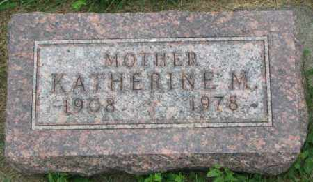HUBER, KATHERINE M. - Yankton County, South Dakota | KATHERINE M. HUBER - South Dakota Gravestone Photos