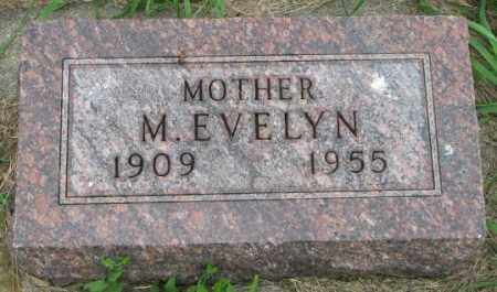 HUBER, M. EVELYN - Yankton County, South Dakota | M. EVELYN HUBER - South Dakota Gravestone Photos