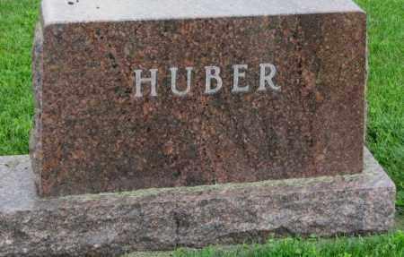 HUBER, PLOT - Yankton County, South Dakota   PLOT HUBER - South Dakota Gravestone Photos