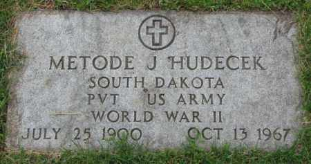 HUDECEK, METODE J. - Yankton County, South Dakota | METODE J. HUDECEK - South Dakota Gravestone Photos