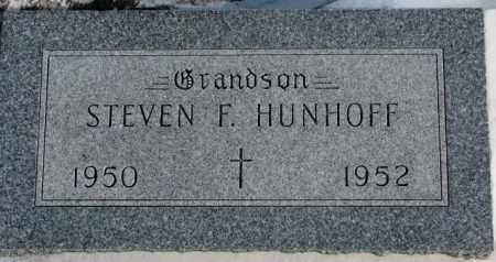 HUNHOFF, STEVEN F. - Yankton County, South Dakota | STEVEN F. HUNHOFF - South Dakota Gravestone Photos