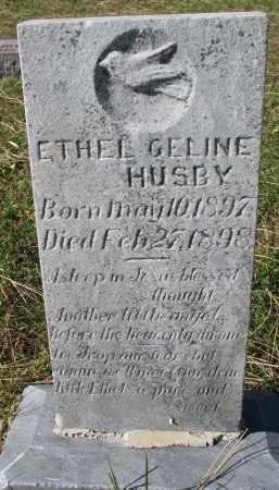 HUSBY, ETHEL GELINE - Yankton County, South Dakota | ETHEL GELINE HUSBY - South Dakota Gravestone Photos