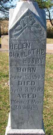 HUSBY, HELEN CHARLOTHE - Yankton County, South Dakota | HELEN CHARLOTHE HUSBY - South Dakota Gravestone Photos