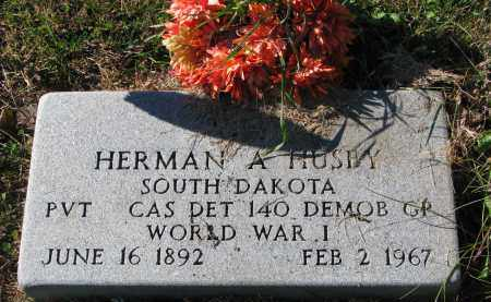 HUSBY, HERMAN A. - Yankton County, South Dakota | HERMAN A. HUSBY - South Dakota Gravestone Photos