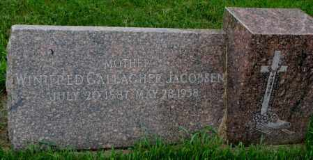 GALLAGHER JACOBSEN, WINIFRED - Yankton County, South Dakota | WINIFRED GALLAGHER JACOBSEN - South Dakota Gravestone Photos