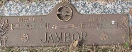 JAMBOR, ALBINA - Yankton County, South Dakota | ALBINA JAMBOR - South Dakota Gravestone Photos