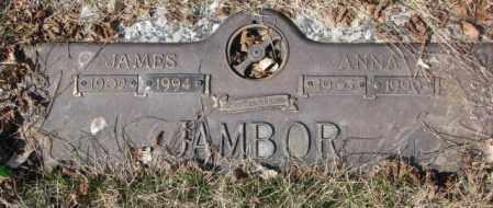 JAMBOR, JAMES - Yankton County, South Dakota   JAMES JAMBOR - South Dakota Gravestone Photos