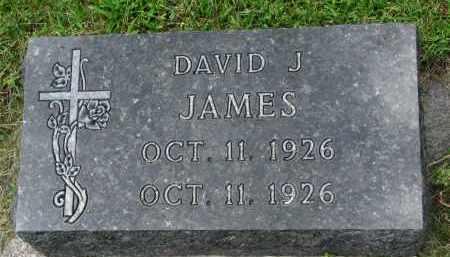 JAMES, DAVID J. - Yankton County, South Dakota | DAVID J. JAMES - South Dakota Gravestone Photos