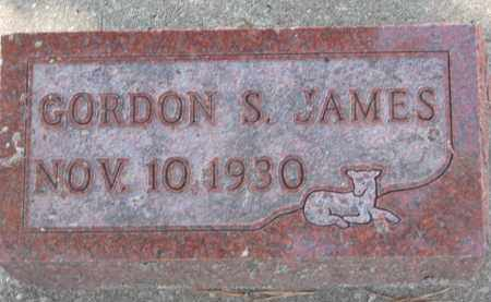 JAMES, GORDON S. - Yankton County, South Dakota | GORDON S. JAMES - South Dakota Gravestone Photos
