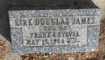 JAMES, KIRK DOUGLAS - Yankton County, South Dakota   KIRK DOUGLAS JAMES - South Dakota Gravestone Photos