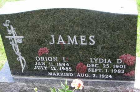 JAMES, ORION L. - Yankton County, South Dakota | ORION L. JAMES - South Dakota Gravestone Photos