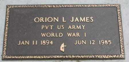 JAMES, ORION L. (WW I) - Yankton County, South Dakota | ORION L. (WW I) JAMES - South Dakota Gravestone Photos