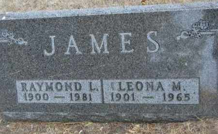 JAMES, RAYMOND L. - Yankton County, South Dakota | RAYMOND L. JAMES - South Dakota Gravestone Photos