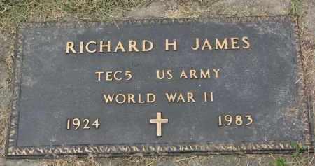 JAMES, RICHARD H. (WW II) - Yankton County, South Dakota | RICHARD H. (WW II) JAMES - South Dakota Gravestone Photos