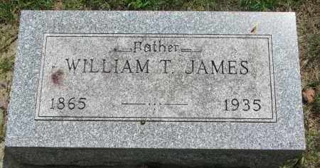JAMES, WILLIAM T. - Yankton County, South Dakota | WILLIAM T. JAMES - South Dakota Gravestone Photos
