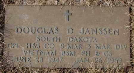 JANSSEN, DOUGLAS D. (MILITARY) - Yankton County, South Dakota   DOUGLAS D. (MILITARY) JANSSEN - South Dakota Gravestone Photos