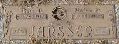 JANSSEN, MARY M. - Yankton County, South Dakota | MARY M. JANSSEN - South Dakota Gravestone Photos