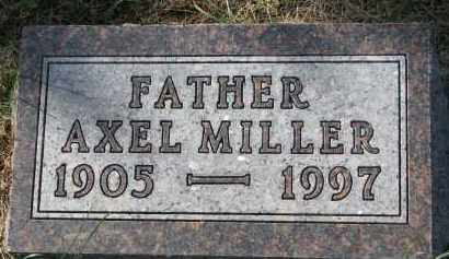 JENSEN, AXEL MILLER - Yankton County, South Dakota | AXEL MILLER JENSEN - South Dakota Gravestone Photos