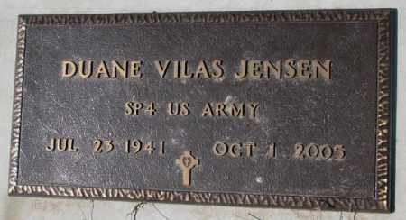 JENSEN, DUANE VILAS (MILITARY) - Yankton County, South Dakota | DUANE VILAS (MILITARY) JENSEN - South Dakota Gravestone Photos