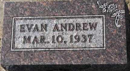 JENSEN, EVAN ANDREW - Yankton County, South Dakota | EVAN ANDREW JENSEN - South Dakota Gravestone Photos