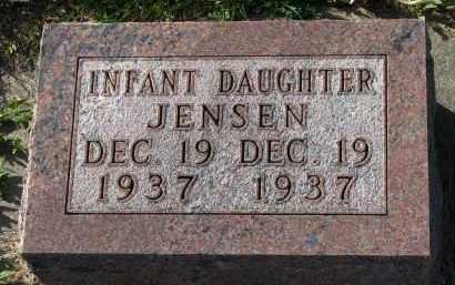 JENSEN, INFANT DAUGHTER - Yankton County, South Dakota | INFANT DAUGHTER JENSEN - South Dakota Gravestone Photos
