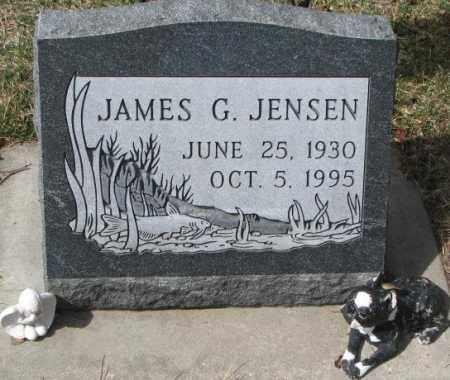 JENSEN, JAMES G. - Yankton County, South Dakota | JAMES G. JENSEN - South Dakota Gravestone Photos