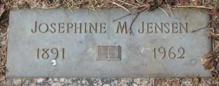 JENSEN, JOSEPHINE M. - Yankton County, South Dakota   JOSEPHINE M. JENSEN - South Dakota Gravestone Photos