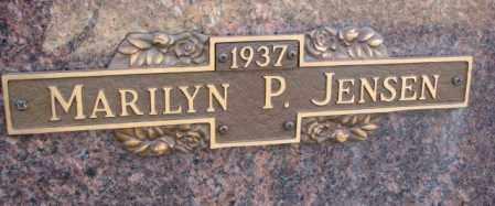 JENSEN, MARILYN P. - Yankton County, South Dakota   MARILYN P. JENSEN - South Dakota Gravestone Photos