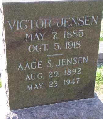 JENSEN, AAGE S. - Yankton County, South Dakota | AAGE S. JENSEN - South Dakota Gravestone Photos