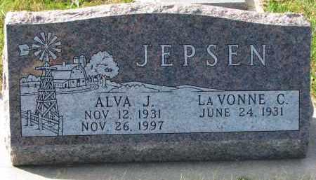 JEPSEN, LA VONNE C. - Yankton County, South Dakota   LA VONNE C. JEPSEN - South Dakota Gravestone Photos