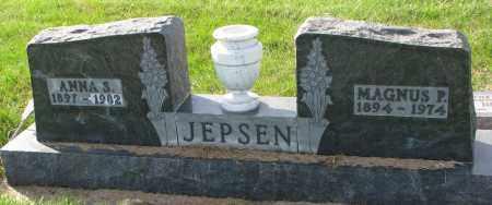 JEPSEN, ANNA S. - Yankton County, South Dakota   ANNA S. JEPSEN - South Dakota Gravestone Photos