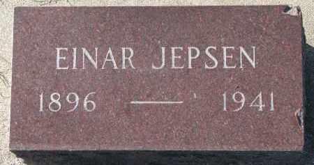 JEPSEN, EINAR - Yankton County, South Dakota   EINAR JEPSEN - South Dakota Gravestone Photos