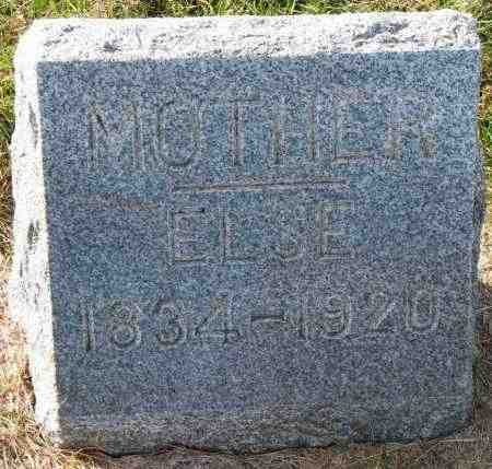 JESSEN, ELSE - Yankton County, South Dakota | ELSE JESSEN - South Dakota Gravestone Photos